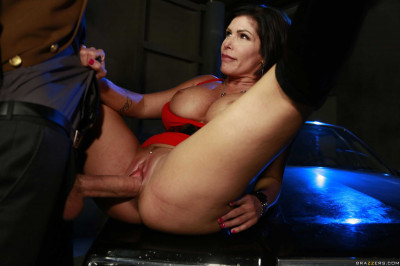 Description Playful Milf In Red Dress Uses The Skills Of Temptation