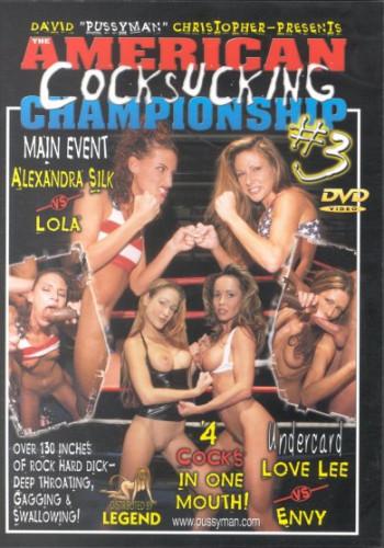 Pussyman's American Cocksucking Championship Part 3 (2001)