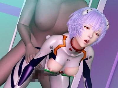 Plug Suit Rei! Sexual Interpolation 01 2013