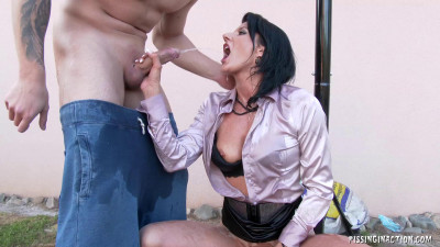 Celine Noiret – Getting Into The Piss Game!