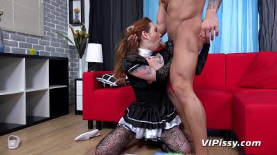 Description The Maid Gets Wet