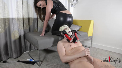 Assfucking Strap-on — Eat Your Cum