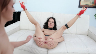 Allatra Hot 2on2 Anal Fisting with Balls Deep Anal