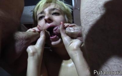 Hot Bukkake Slut Molly