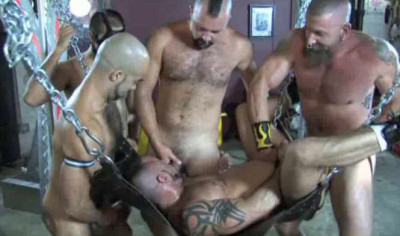 Hungry Piss Whores In Rough Gangbang