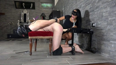 Mistress Gaia - Foot Gagging Ass Fuck