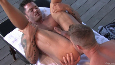 Deep Inside Part 1: Scene 03- Landon Conrad and Mitchell Rock