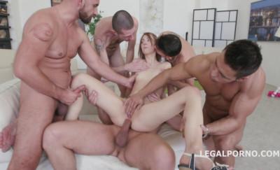 Deep Gangbang For Teen Young Slut