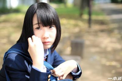 Description 厘アオキ-内気な女子学生