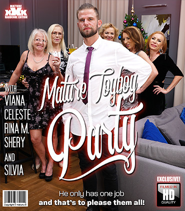 Celeste, Rina M, Shery, Silvia, Viana - Groupsex FullHD 1080p