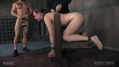 Cute Girl Next Door, Suffers Brutal Deepthroating And Rough Fucking, Extreme Bondage And Sex