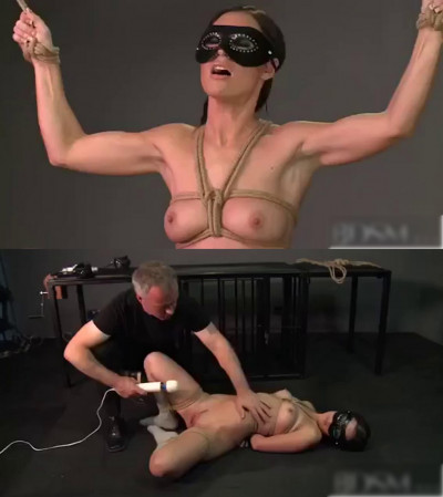 Super bondage, domination and torture for sexy naked slut