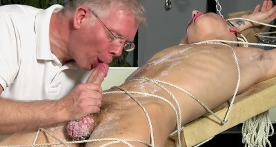 Reece Gets His Balls Drained (Reece Bentley, Sebastian Kane)