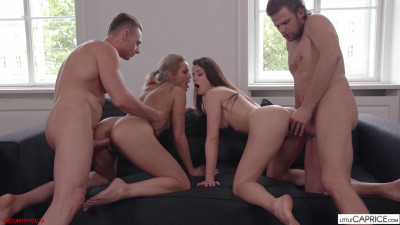 Creampie Orgy With Cuties Cherry Kiss & Little Caprice