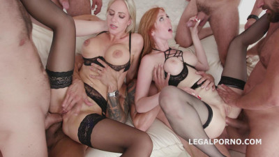 Lauren Phillips & Natalie Cherie – Red Vs Blond Part 2