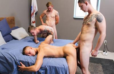 Hot Foursome Ryan, Phoenix, Blake & Logan (720p,1080p)