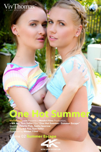 Description Sasha Sparrow, Violette Pink - One Hot Summer Episode 2 - Summer Escape (2018)