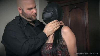 Super bondage, torture and spanking for naked brunette HD 1080