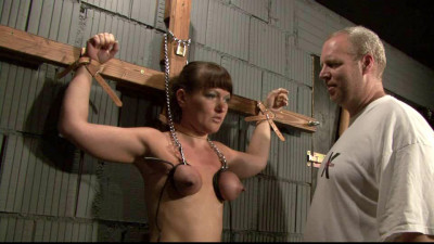 Breast Torture & More For Yvette In The Dungeon Part 1