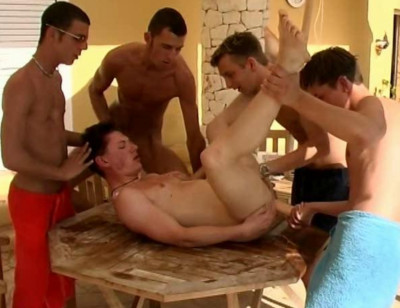Surprise Gang Bang Party