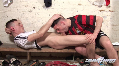 Changing Room Diaries Part 5 After Match Antics Brandon Moore, Bruce Powers