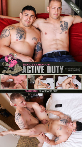 Active Duty - Chase and Flip Bareback 1080p