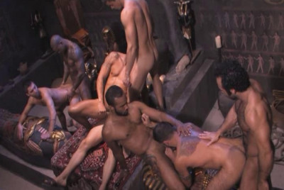 Description Eight Arabian Men In Orgy
