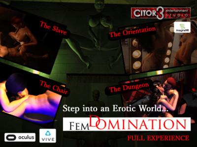 Description FemDomination - Complete [VR V1.01]