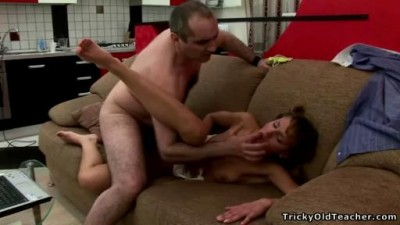 Young school chick gets fucked for a better grade.