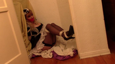 BDSM Bdsm Most Popular French Maid Bound in the Closet all week long