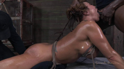 Description Monster tits and epic ass, suffer brutally deep throating an rough anal sex