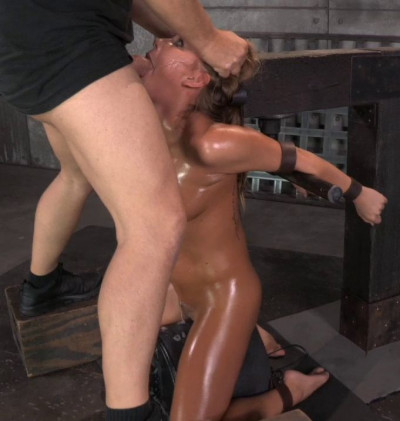Carter Cruise Blindfolded Oiled Down Sybian Blasted