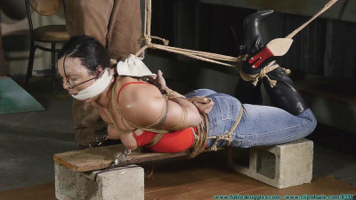 Futilestruggles Wenona Hogtied in Jeans and Boots — Part 3