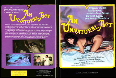 Description An Unnatural Act(1984)- Bridgette Monet, Desiree Lane, Kimberly Carson