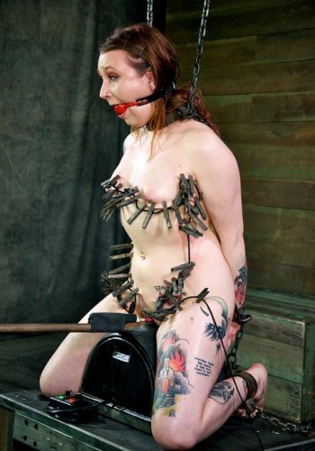 Hot adventure for slave