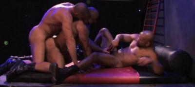Muscle Anal Hunters Like Group Sex