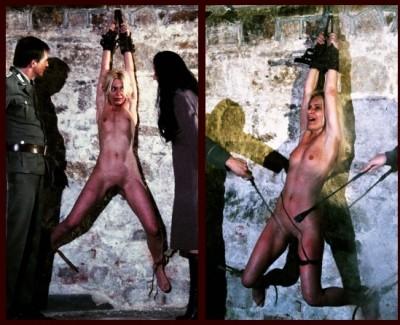 Bdsmprison - Spy Mirela Wont Confess & Endures Spanking & Electro Play Punishment HD