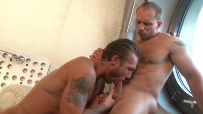 Sweaty Stud Bo Dean Hammers John Magnum's Ass HD