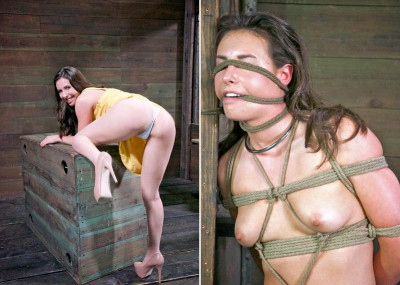 Super Hot Babe In Bondage