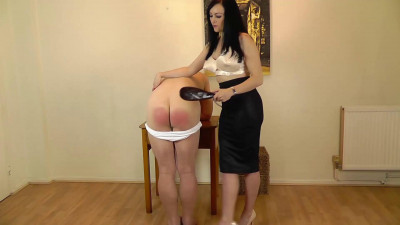 Miss Jessica And Hand Spanking part 26