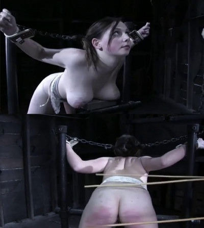 Bondage, domination and torture for naked bitch part 2