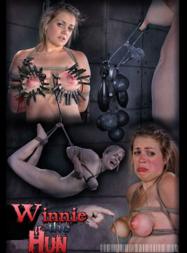 Winnie the Hun Part 2 - pain, bdsm, whip...