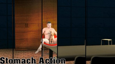 3D XXX Gay Stomach Action