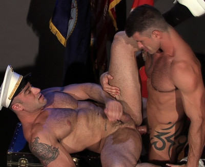 Uniform Men, Scene 1 - Adam Killian & Spencer Reed Flip-Flop Fuck