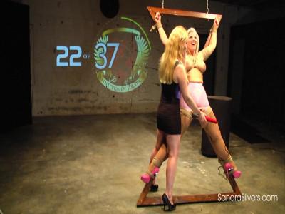 1st of the Uncut Extreme Lesbian Bondage Orgasm Endurance Challenge