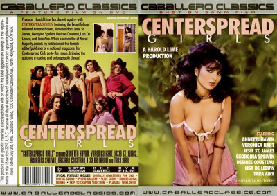 Description Centerspread Girls(1982)- Annette Haven, Lisa De Leeuw, Veronica Hart