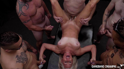 Hot Milf Gangbanged With Many Loads
