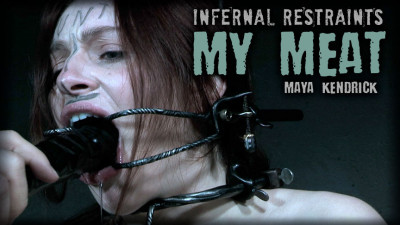 Infernal Restraints – My Meat  – Maya Kendrick 720p