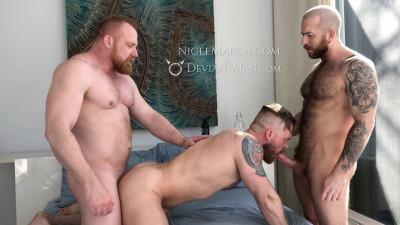 DeviantMan Ginger Bang - Nigel March, Kitten Bear & Eisen Loch