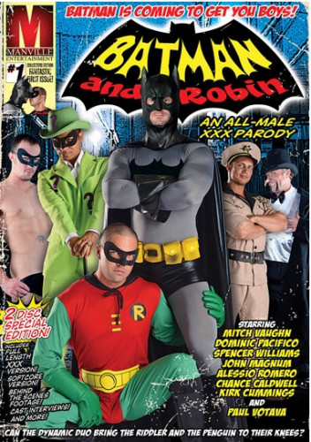 Description Batman and Robin An All-Male xxx Parody